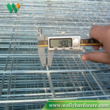 dark green powder coated welded wire mesh panel