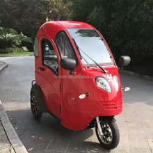 China red electric tricycle