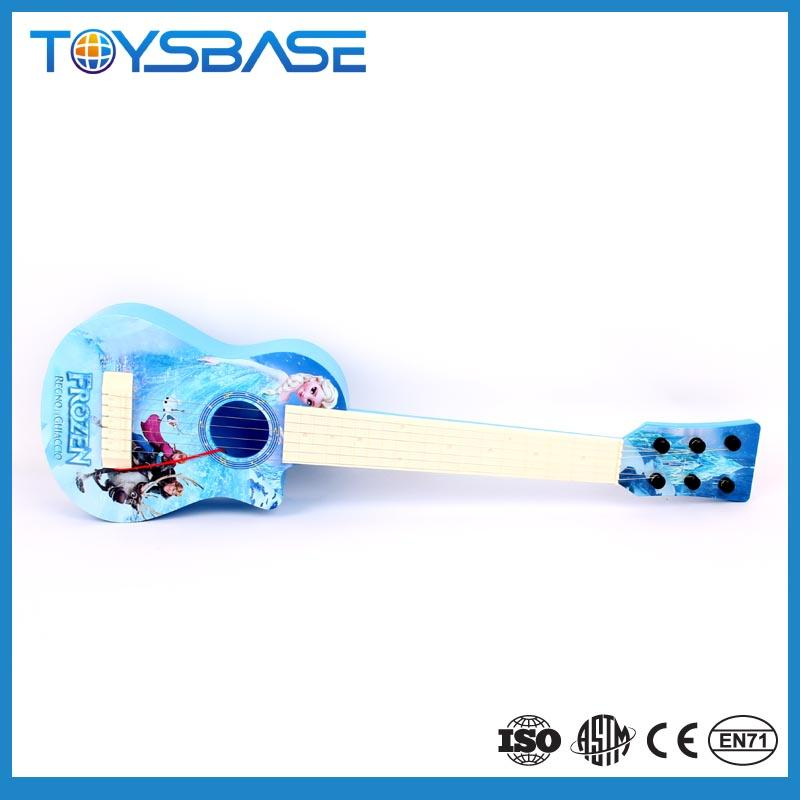 Wholesale 3D children cartoon music and light toy electronic guitar