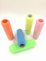 230mm Polyester Roller Cover for water based paint Synthetic Fiber