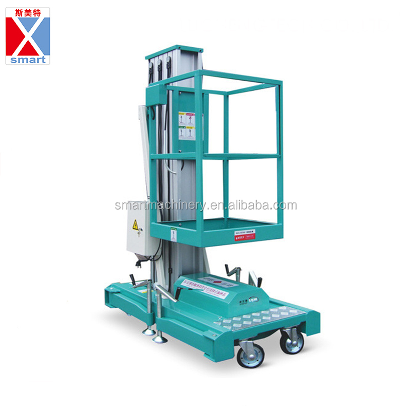 Mini Small Aerial Work Platform Man Elevator Lift Platform