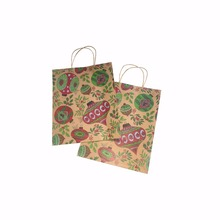 New fancy shopping gift paper bag with customize logo printing
