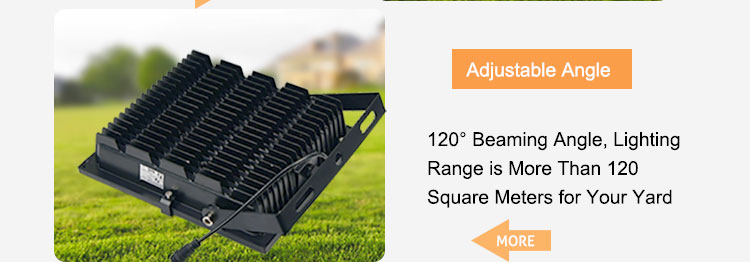 Super bright outdoor projector solar led floodlight