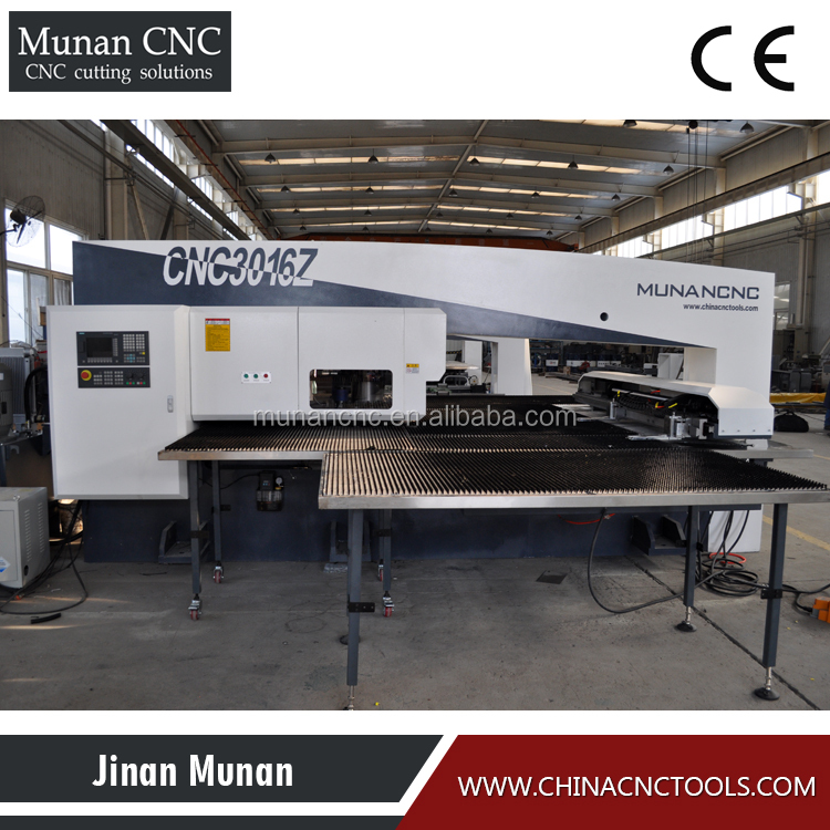 Top sales factory price in china efficient cnc high frequency cnc turret punch press