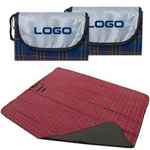 Wholesale Acrylic Plaid Waterproof Foldable Beach Picnic Mat/Camping Picnic Blankets