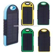Original factory portable solar sun charger with 30cm extending cable