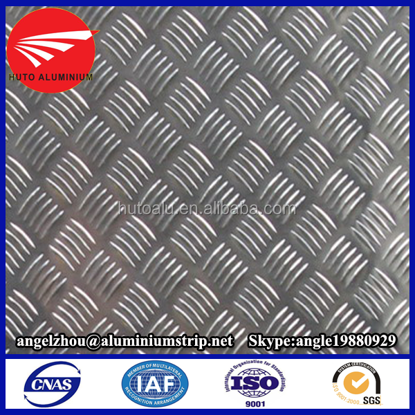 Newly aluminum trailer flooring for safety tread sheet