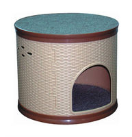 Plastic Comfortable cool Modular cat House Pet House