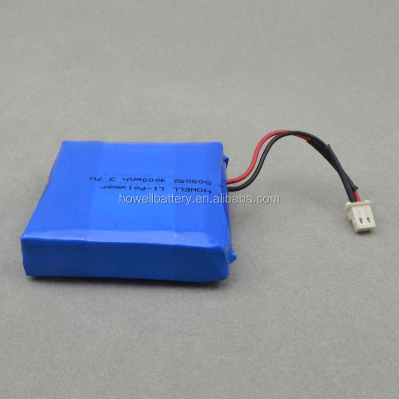 polymer lithium battery 6532100 3.7v rechargeable high capacity.