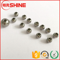customized 4mm 5mm 6mm stainless steel ball with hole