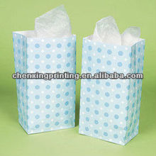 Blue Polka Dot Baby Party Supplies/Baby Shower Treat Bags