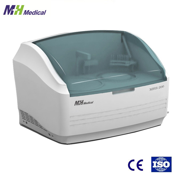 CE&ISO approved MH medical full auto biochemistry analyzer blood test equipment