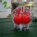 Amazing Double Layer Design Air Inflatable Jellyfish Model Balloon For Display
