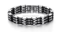 SB0802085 china factory 316l stainless steel jewelry men 's stainless steel bracelet cheap bulk wholesale