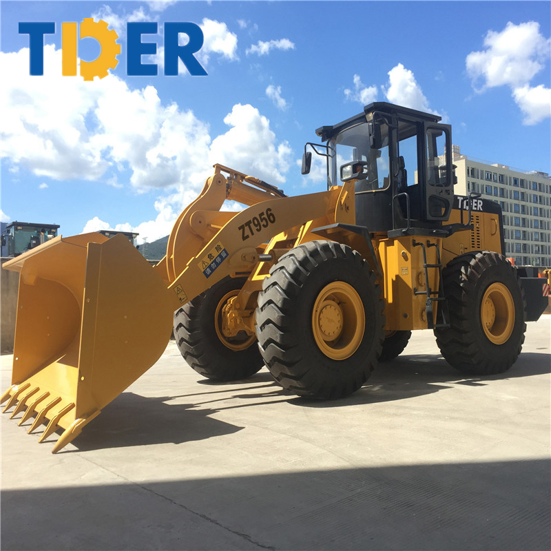 China new wheel front loader zl 50 5 ton loader price listing