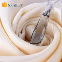 perfume bottle pendant necklaces wholesale pastel necklace