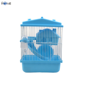 Double Story Custom Pet Large Wire Mesh Plastic Luxury Hamster Cage