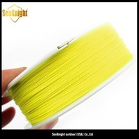 China Factory High Quality 100M Varrious Colors Braided Fly Fishing Line
