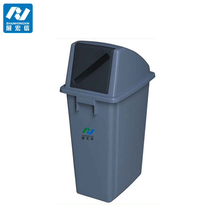 Large capacity rectangle environmently outdoor trash can,a new design thicker and stronger trash can.