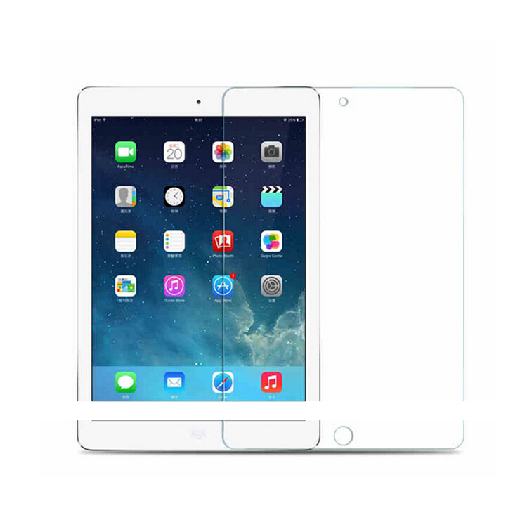 manufacturer Ultra Crystal clear Toughened protective Screen Film Premium Tempered Glass Screen Protector for ipad pro