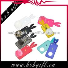 cute rabbite silicone phone case