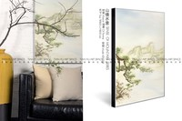 Beautiful scenery canvas oil painting handicraft items wall hanging decor
