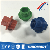 "Plastic fitting custom-made 1/2"" screw fitting plastic water pipe ppr plug"