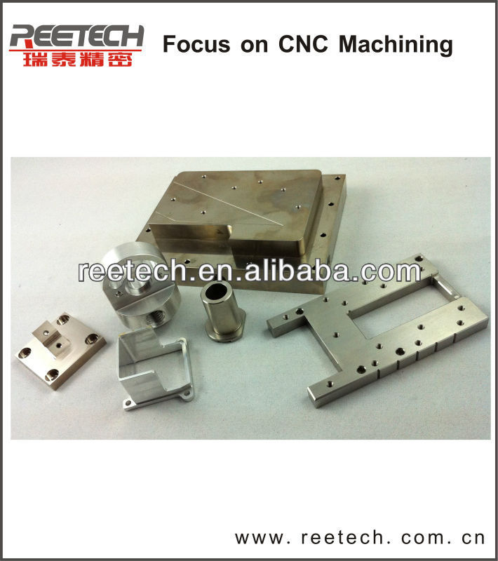 High Precision CNC Machined Aluminum Parts Made in China