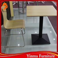 wholesale fast food table and chairs