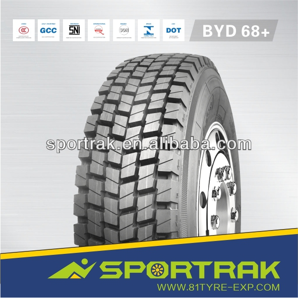 12R22.5 chinese brand tire top quality tubeless michelin truck tire