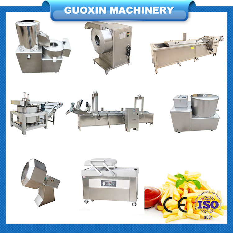 Fully Automatic French Fries Potato Chips Making Machine Price