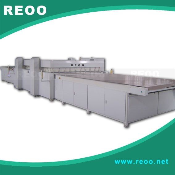 REOO Full automatic solar PV laminator( high efficiency, competive price, touch screen)