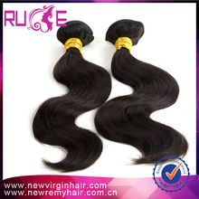 100% no tangle machine made virgin remy smooth cheap yaki body wave weaving