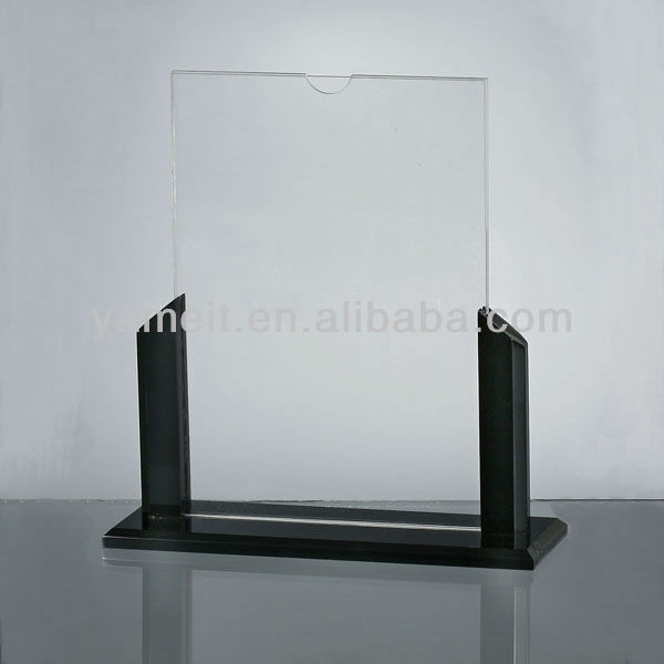 Customize New Design Display Clear Acrylic Brochure Literature Holder
