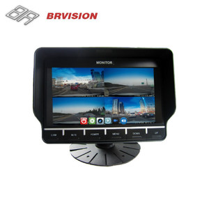 7 Inch TFT LCD Digital Reversing TFT Car Quad Rearview AHD Monitor for Heavy Truck