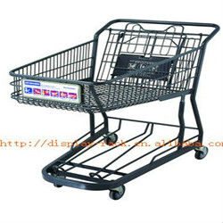 Janpanese-style shopping cart with three wheel HSX-1135