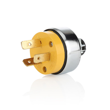 Factory supply good quality 20A american 3pin smart plug brass electrical power plug