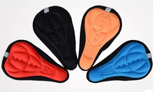 MTB Bicycle Seat Saddle Cover Comfprtable Soft Silicone Gel Bike Seat Rain Cover Bicycle Saddle Cover