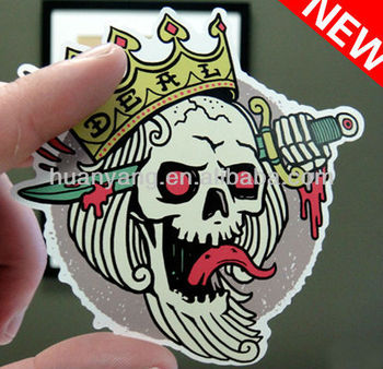 die cut sticker (uvproof and waterproof)