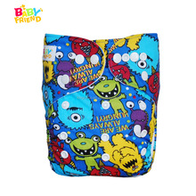 Pocket Type Polyester Material Baby Cloth Diaper