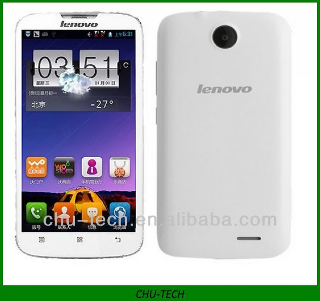 Lenovo A560 Smartphone Android 4.3 MSM8212 Quad Core 5.0 Inch IPS Screen 3G