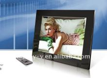 "Top Selling! Fashionable high resolution 10"" lcd memories digital photo picture frame"