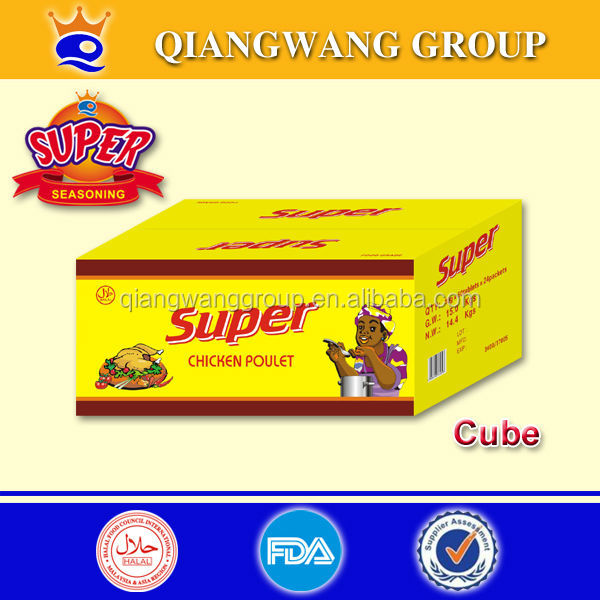 5G/CUBE FOR NIGER ,TOGO ,BENIN SUPER HALAL CHICKEN BOUILLON CUBE STOCK CUBE SEASONING CUBE AFRICA FOOD CUBE THE SPICES CUBE