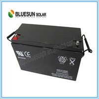Rechargeable UPS Usage and Free Maintenance Type AGM 12v 12ah lead-acid battery