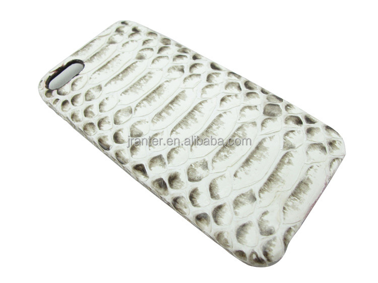 Custom Luxury 100% Python Leather for iPhone Case Cover for iPhone 4s
