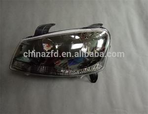 New type head lamps for chinas car