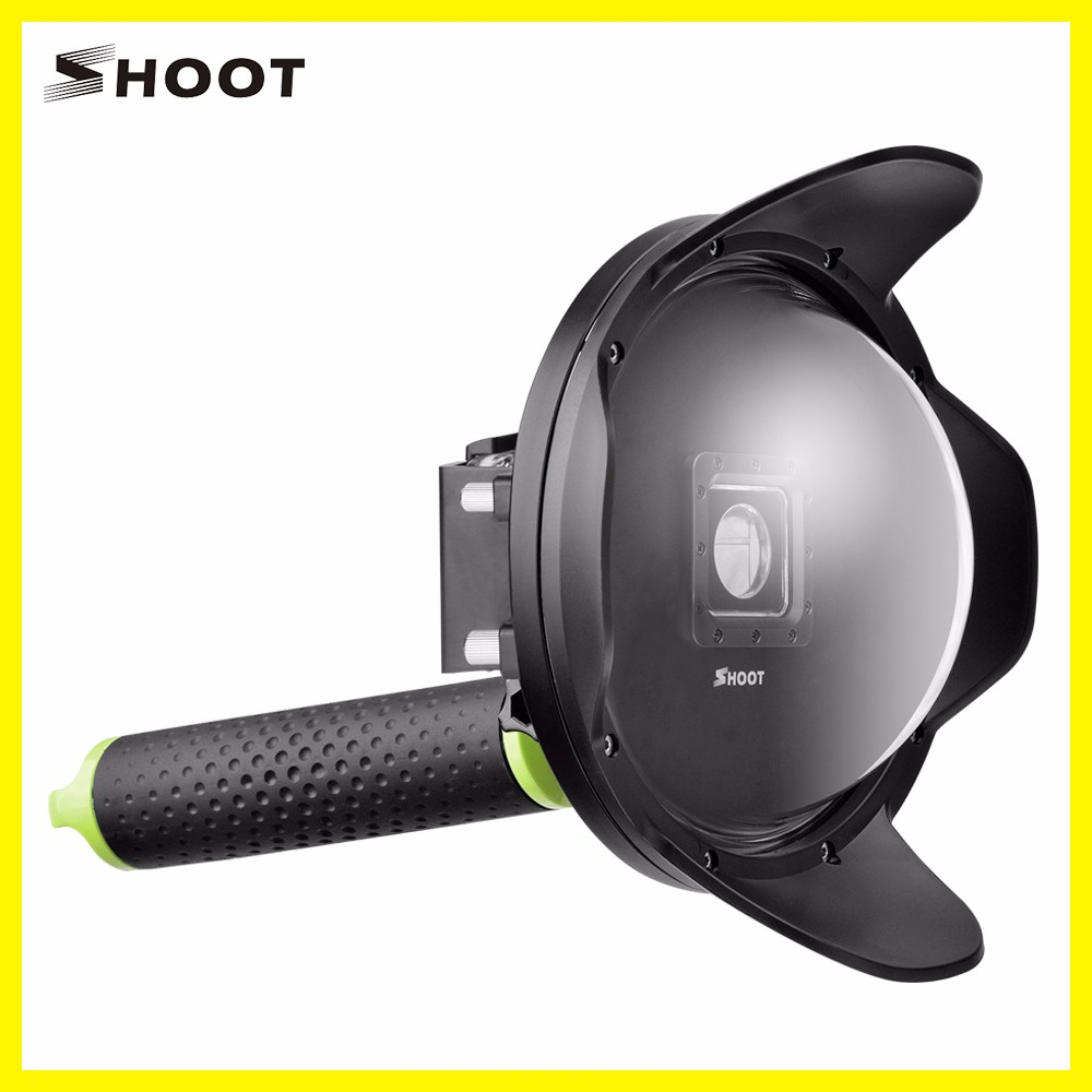 SHOOT professional for Xiaoyi for Xiaoyi Yi 2 4k Camera Fisheye Dome Port