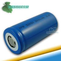 32650 Battery 3.7V 5000mAh Rechargeable Li-ion Battery For LED Flashlight
