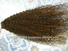 Virgin Kinky Curly Human Hair exporters