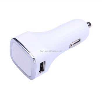 Wholesale price new popular car charger with led circle ring with many color